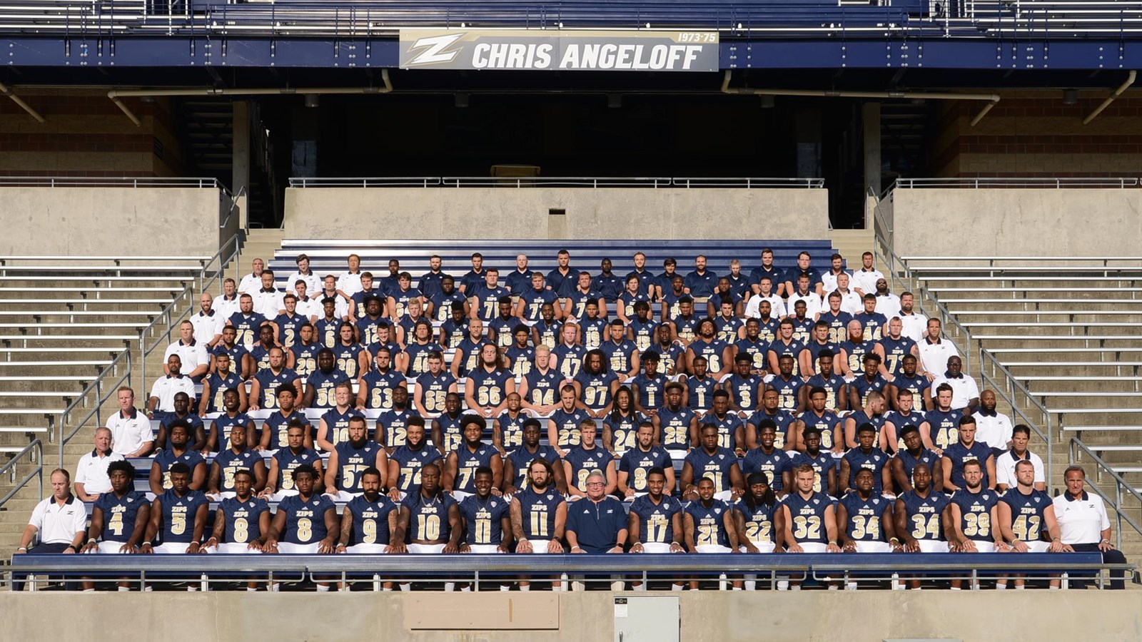 2017 Football Roster University Of Akron Athletics