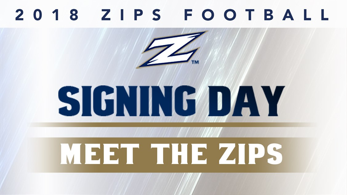 Akron Football Signs 12 Student-Athletes to National Letters of ...