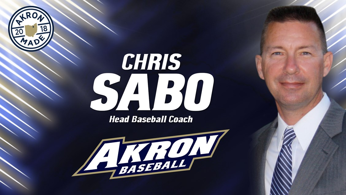 Chris Sabo Named Akron Baseball Coach; Fans Invited to Campus Introduction on Wednesday