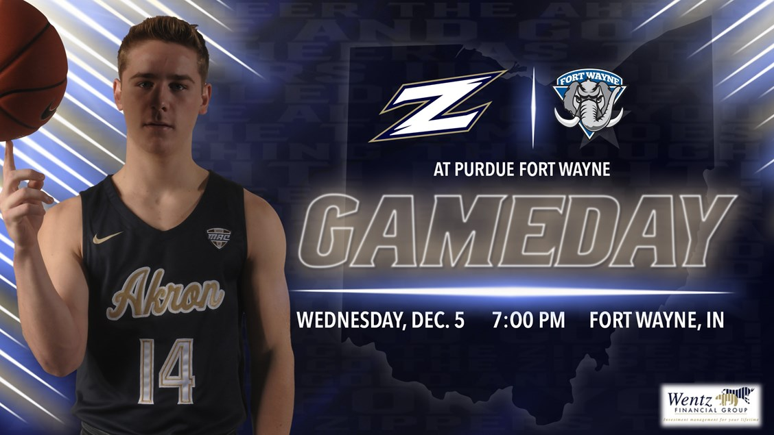 Akron S First True Road Test At Purdue Fort Wayne University Of